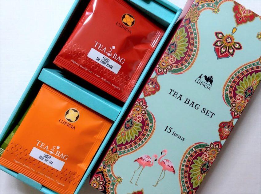 ルピシア人気のお茶ティーバッグセット15種